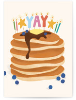 This is a colorful birthday cards for kid by Ana Peake called You Stack Up with standard printing on signature in greeting cards.