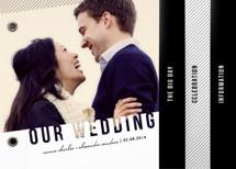 Simply See Through Wedding Invitation Minibooks By Lehan Veenker
