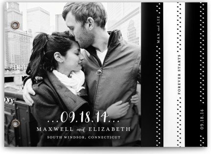 Simple Type Wedding Invitation Minibooks