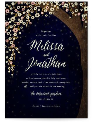 Outside Wedding Invitation Petite Cards