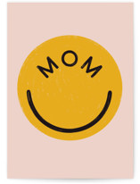 This is a pink mothers day card by Pati Cascino called You make me smile with standard printing on signature in greeting cards.