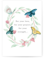 This is a green mothers day card by Maja Cunningham called Love Gratitude with standard printing on signature in greeting cards.
