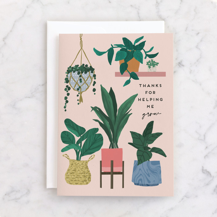 """""""Growth"""" - Individual Mother's Day Greeting Cards in Garden by Everett Paper Goods."""