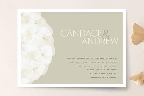 Modern Tulle Wedding Invitations