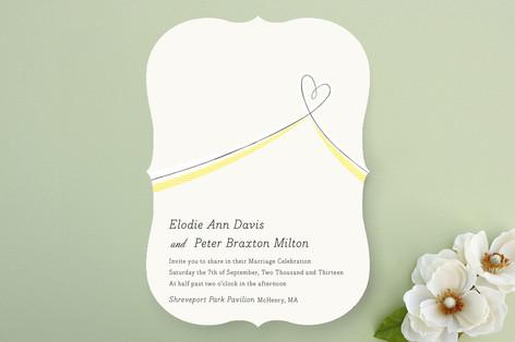 Heart Aflutter Wedding Invitations
