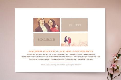Star Gazing Wedding Invitations