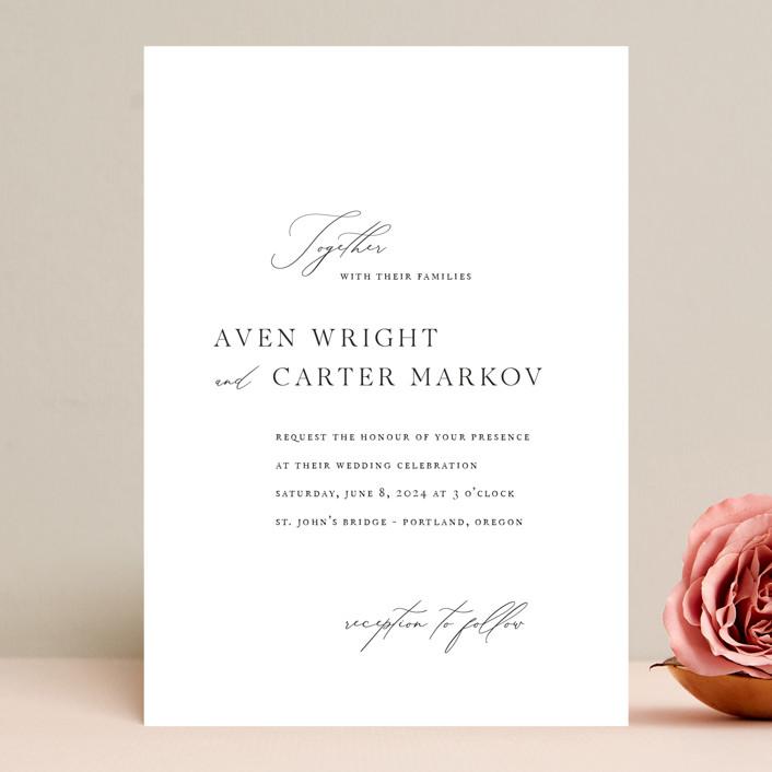 """Storybook"" - Wedding Invitations in Ink by Jennifer Postorino."