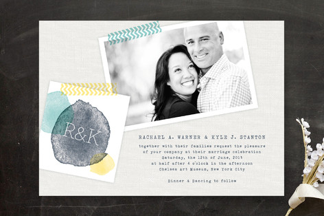 Picture Perfect Day Wedding Invitations