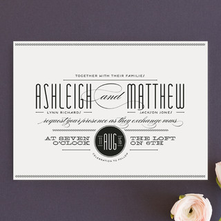 Twine Wedding Invitations by Lauren Chism Minted