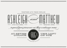 Twine Wedding Invitations By Lauren Chism