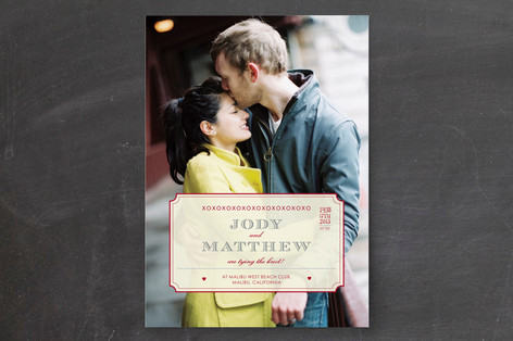XOXO Wedding Invitations
