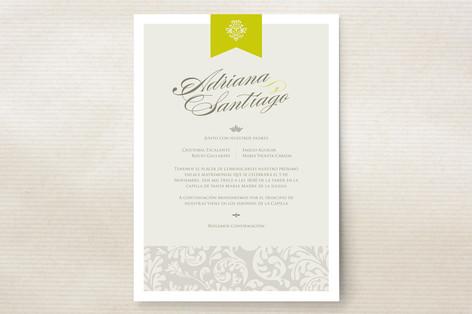 Latin Celebration Wedding Invitations