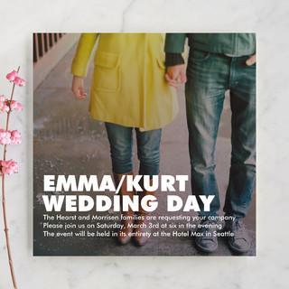 Charge Ahead Wedding Invitations