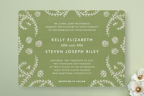 Ties that Bind Wedding Invitations