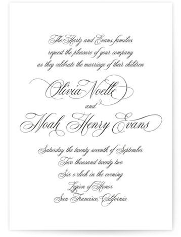 Legacy Wedding Invitations