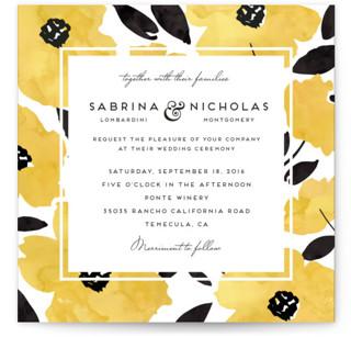 Dark Romance Wedding Invitations