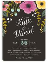 Garden Blooms Wedding Invitations