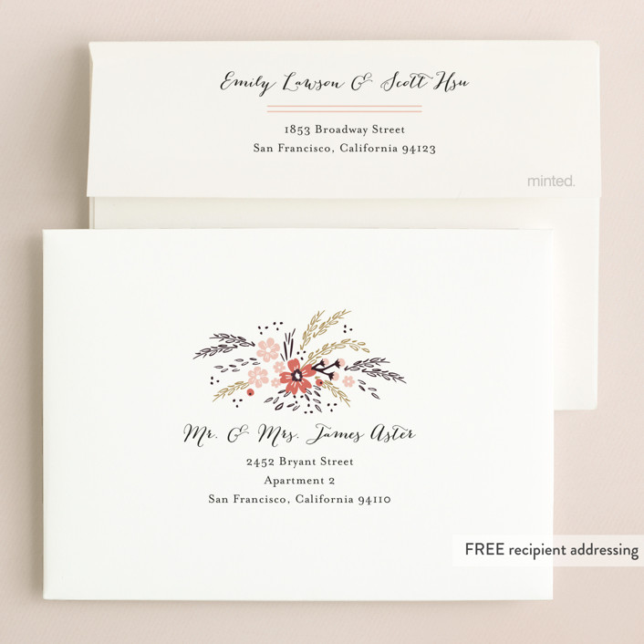 Grand Fleur Wedding Invitations By Kristie Kern