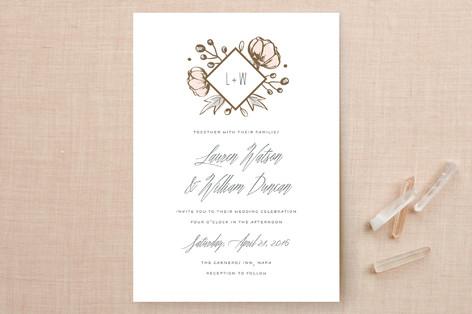 Romanced Wedding Invitations