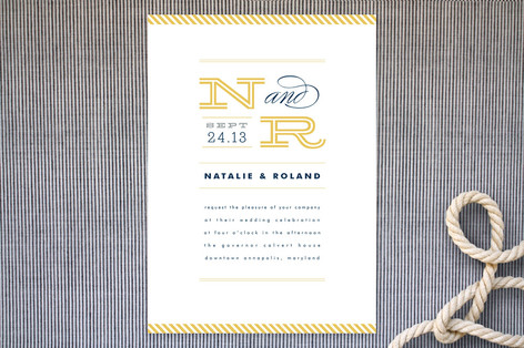 Ballaster Wedding Invitations