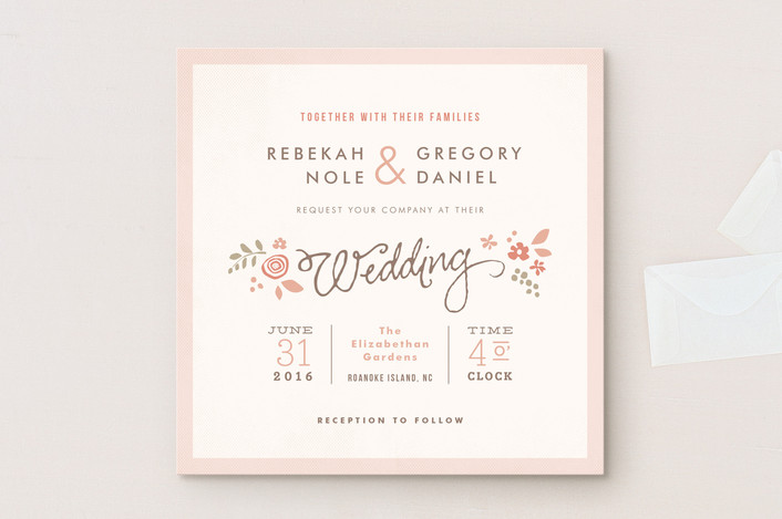 Wedding Invitation Workding: Wedding Invitation Wording That Won't Make You Barf