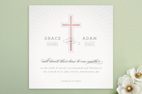 Vow Wedding Invitations