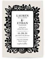 Modern Floral Frame by Faiths Designs