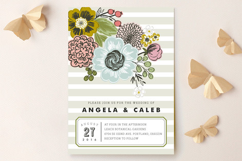 Seed Packet Wedding Invitations by Alethea and Rut Minted