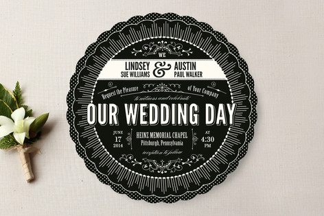 Cosmopolitan Roaring 20 S Wedding Invitations