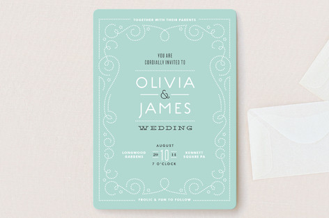 Bookbinder Wedding Invitations