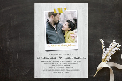 Polaroid Perfection Wedding Invitations