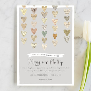 Love Letters Wedding Invitations By Design Lotus Minted