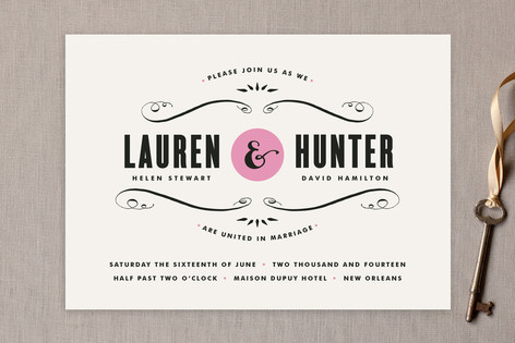 French quarter wedding invitations by kristie kern minted french quarter wedding invitations stopboris Choice Image