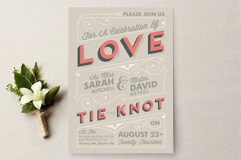 Celebrate Love Wedding Invitations