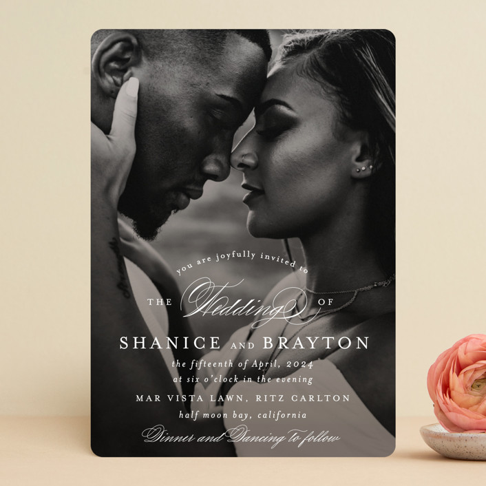 """""""Soft Overlay"""" - Wedding Invitations in Cloud by Mansi Verma."""
