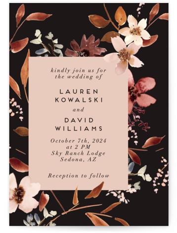 Silky Way Wedding Invitations