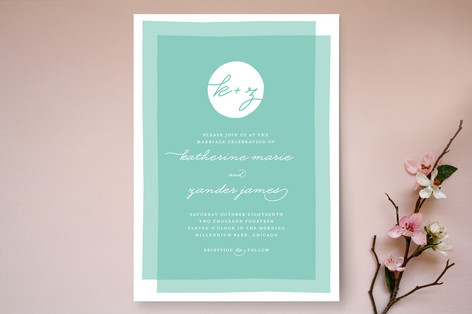 layered wedding invitations - Layered Wedding Invitations