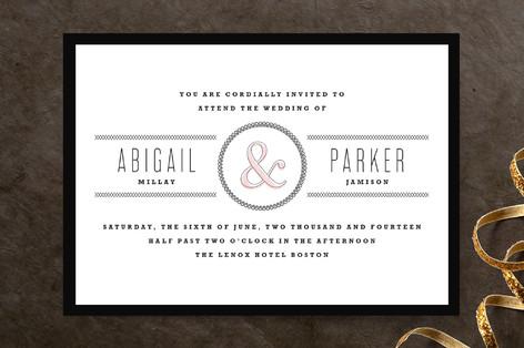Dressmaker Details Wedding Invitations