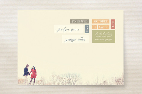 Modern Elegance Wedding Invitations