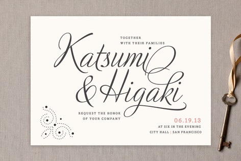 Alden Wedding Invitations