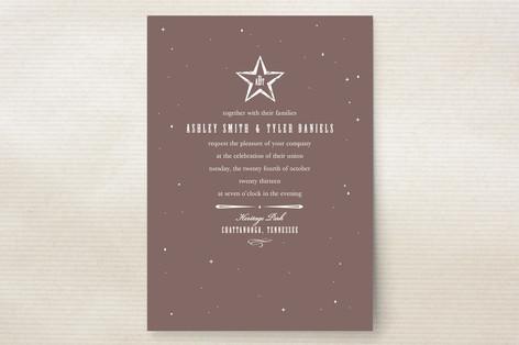 In the Stars Wedding Invitations