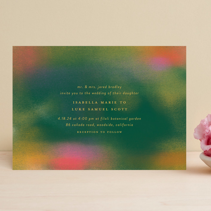 """""""Forest Love"""" - Wedding Invitations in Forest by Simona Camp."""