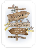 The Wedding Sign Says