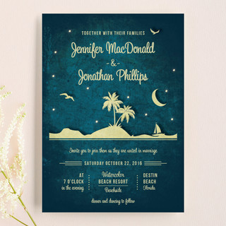 Love island wedding invitations by rebecca bowen minted love island wedding invitations stopboris Choice Image