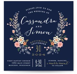 photo of Wildflower Crest Wedding Invitations