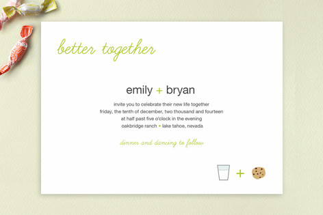 Better Together Wedding Invitations