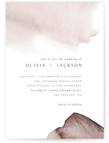 Blueridge Wedding Invitations
