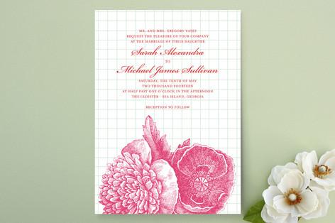 Bibliotheque Wedding Invitations