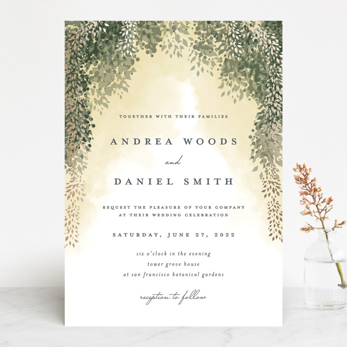 """veil sweet"" - Rustic Wedding Invitations in Blush by Cassandra Imagines."
