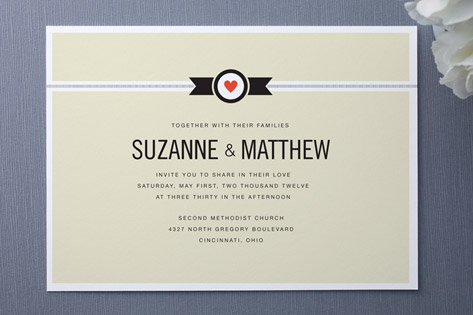 Classic Affair Wedding Invitations